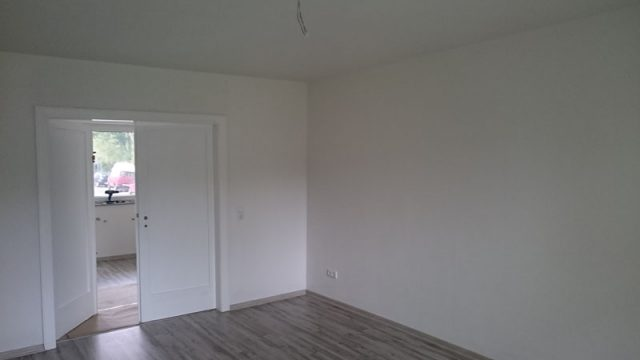 05 / 2015 Sanierung einer Wohnung
