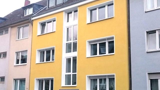 2017 Sanierung einer Fassade