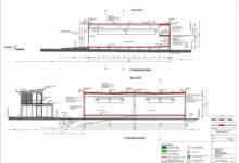 2019 Gewerbehalle und Wohnhaus aus Containern