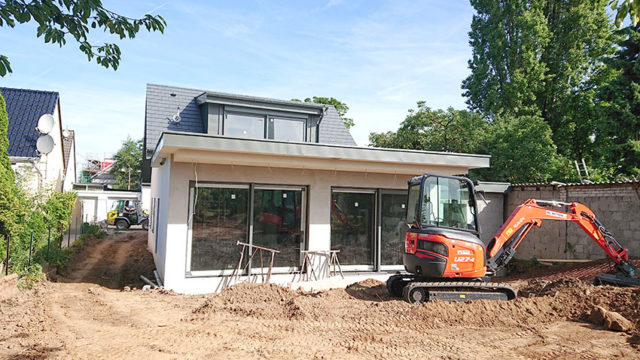 2018 Neubau eines Einfamilienhauses